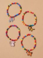 Stretch bracelet with Animal charm (Code 3760)